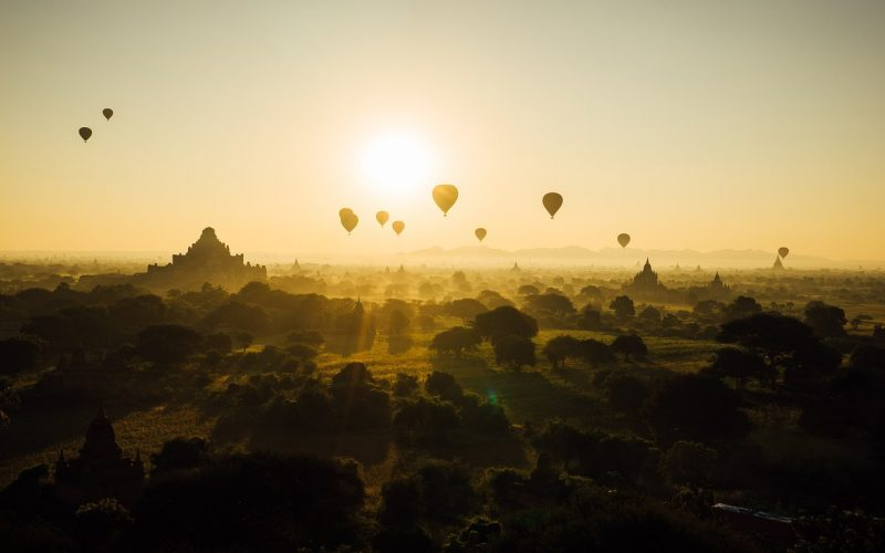 circuit en Birmanie